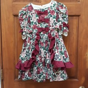 Other - Vintage Victorian toddler dress ruffle and lace